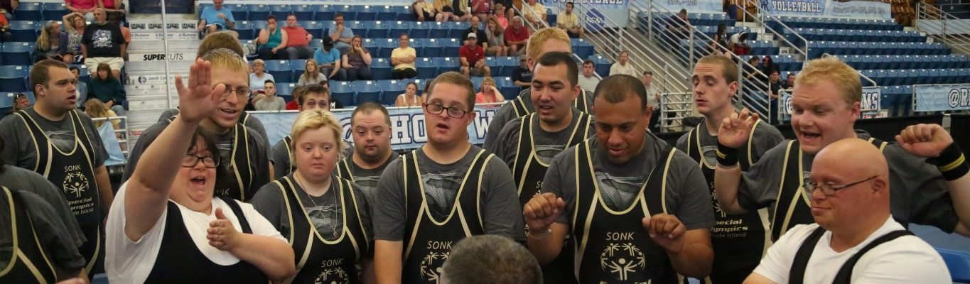 RI Special Olympic Athletes